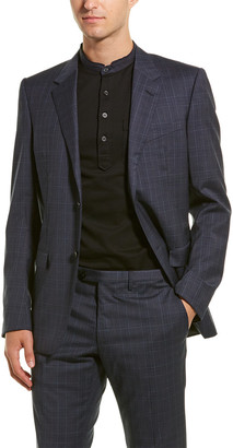 Lanvin 2Pc Evolution Wool Suit