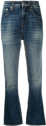 DEPARTMENT 5 High-Rise Flared Jeans