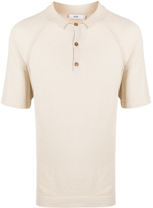 Closed Knitted Short Sleeve Polo Shirt