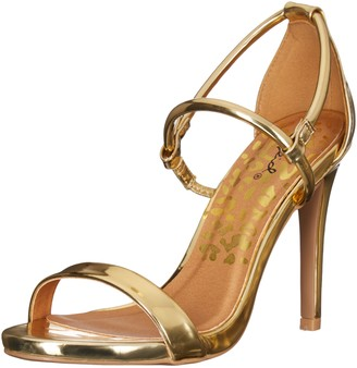 Qupid Women's Grammy-206 Dress Sandal