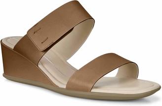 Ecco Women's Women's Shape 35 Wedge 2-Strap Slide Sandal