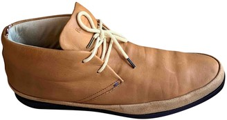 Paul Smith Camel Leather Boots