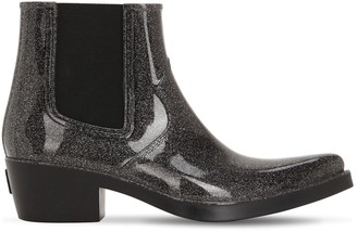 Colors of California 40mm Glittered Rubber Cowboy Boots