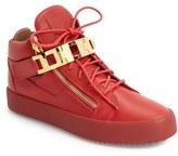 Giuseppe Zanotti Men's Chain Link Side Zip Sneaker