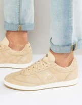 Le Coq Sportif Stadio Trainers In Beige Exclusive To Asos