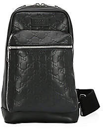 Gucci Men's Signature Leather Backpack