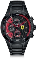 Ferrari RedRev Evo Black Stainless Steel Men's Chrono Watch