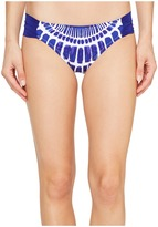 Trina Turk Algiers Shirred Side Hipster Women's Swimwear