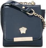 Young Versace - Medusa shoulder bag - kids - Patent Leather - One Size