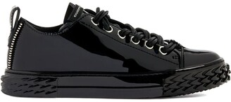 Giuseppe Zanotti Low-Top Leather Sneakers