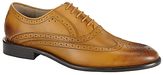 Oliver Sweeney Sweeney London Fellbeck Leather Lace-up Brogues, Tan