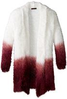 Ella Moss Suki Dip-Dye Wrap Sweater (Big Kids)