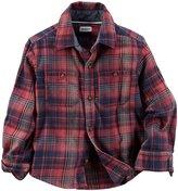 Carter's Plaid Button Down Shirt - Plaid - 2T