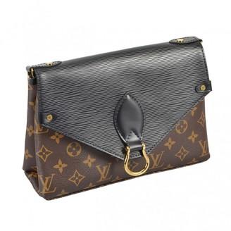 Louis Vuitton Saint Michel Brown Cloth Handbags