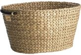 Pier 1 Imports Carson Natural Wicker Oval Laundry Basket