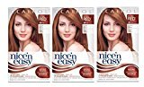 Clairol Nice 'N Easy Hair Color 110 Natural Light Auburn 1 Kit (Pack of 3) by