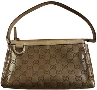 Gucci Metallic Cloth Clutch bags