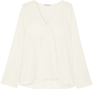Elizabeth and James Ellis Crepe De Chine Blouse