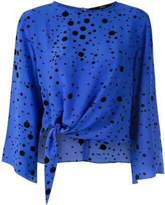 Eva Poa Eclipse silk blouse
