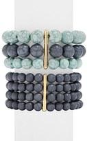 BaubleBar 'Tierra' Beaded Bracelets (Set of 2)