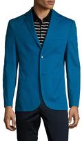 Notch Lapel Slim Fit Jacket