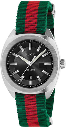 Gucci Men's Watch with Signature Web Strap