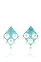 Mercedes Salazar Fiesta Azul Earrings