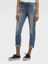 Donna Karan Donnakaran The Soho Jean – Rolled Cuff Blue 0