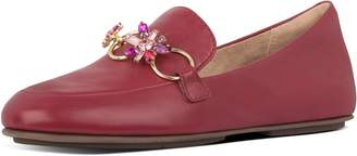 FitFlop Lena Blossom Leather Loafers
