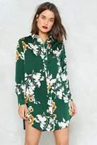 Nasty Gal Go With the Grow Shirt Dress