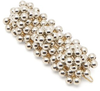 Shrimps Antonia Bead-embellished Hair Clip - Silver