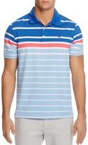 Vineyard Vines O'Keefe Engineer Stripe Regular Fit Golf Polo Shirt