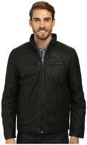 Vince Camuto Cotton Coated Reversible To Quilted Down Jacket