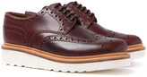 Grenson Archie Chestnut Leather Brogues