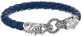John Hardy Legends Double Dragon Head Bracelet (Sterling Silver) Bracelet