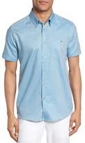 Ted Baker Men's Wooey Extra Slim Fit Mini Texture Sport Shirt