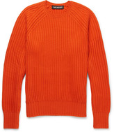 Neil Barrett - Ribbed Wool-blend Sweater