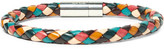 Paul Smith Braided Leather Bracelet