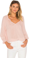 Velvet by Graham & Spencer Vincianna Blouse in Pink. - size S (also in XS)