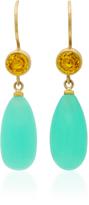 Mallary Marks Apple \u0026 Eve Yellow Sapphires Earrings