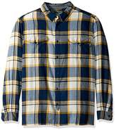 Woolrich Men's Stone Rapids Organic Cotton Yarn-Dye Flannel