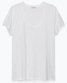 American Vintage White Jacksonville T Shirt - Large - White