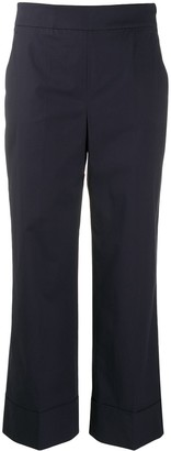 Incotex Cropped Straight Trousers