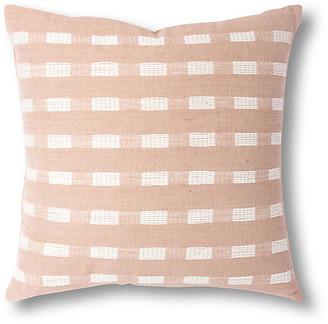 Bole Road Textiles Berchi 20x20 Pillow - Dusty Rose