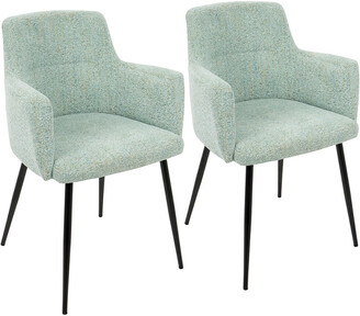 Lumisource Set Of 2 Andrew Dining Chairs