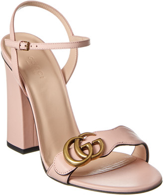 Gucci Double G Leather Sandal