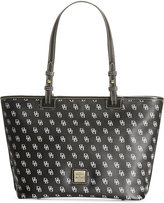 Dooney & Bourke Gretta Signature Small Leisure Shopper
