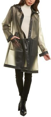 Jane Post Translucent Raincoat