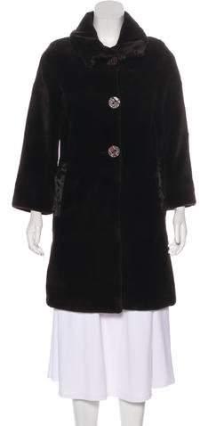 Giuliana Teso Sheared Mink & Broadtail Coat