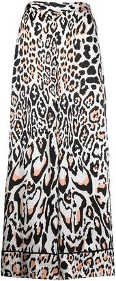 Temperley London Elpis wildcat pyjama trousers